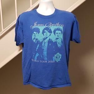 Jonas Brothers 2009 Tour Large T-Shirt